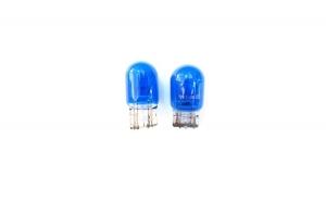 Bec T20 albastru 2 faze 5W / 21 W 12V
