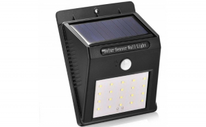 Proiector solar cu LED, senzor de