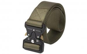 Curea tip militar,  verde, ajustabila, foarte rezistenta, cupla rapida din aliaj special, carabina dedicata inclusa