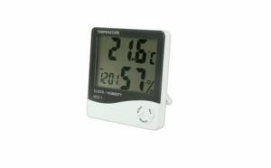 Ceas digital cu senzor de umiditate