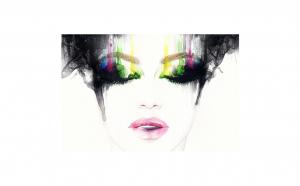 Tablou Canvas, See my Colors, 50 x 75, cm rama de lemn ascunsa, margini printate