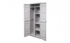 Dulap multifunctional cu compartiment inalt, GENSINI Italy, gri, cm 65x45x172h,QW.5700.00.120