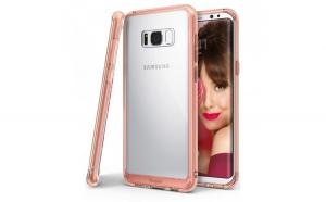 Husa Ringke Fusion PC cu TPU Bumper pentru Samsung Galaxy S8 G950 rose gold