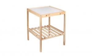 Masa din lemn 36 x 34.5 x 45 cm, TeamDeals 10 Ani, Casa & Gradina