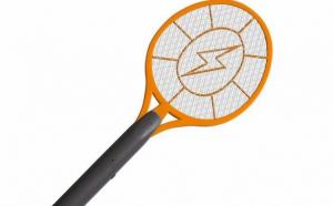 Paleta cu Descarcare Electrica Anti-Insecte, Tantari, Muste, Molii