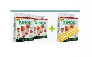 Detoxifiaza-ti organismul cu ajutorul plasturilor Kinoki - 1 set 10 plasturi, la doar 12 RON in loc de 25 RON sau plateste 2 seturi si-l primesti pe al 3-lea CADOU