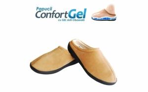 Papucii confortgel - papucii cu talpa cu gel incorporat, pentru maximum de confort
