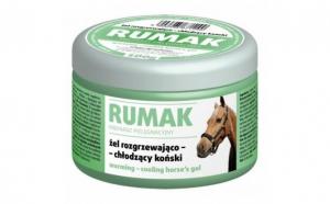 Gel pentru cai, cu efect de incalzire - racire, Rumak, 500g