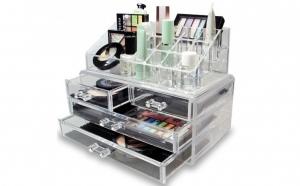 Organizator pentru cosmetice, 20 de spatii de depozitare