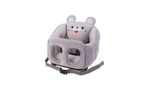 Scaun multifunctional din plus, cu centura si desene bebelusi