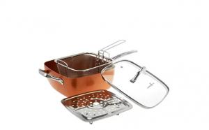 Super Copper - Tigaia multifunctionala patrata din cupru