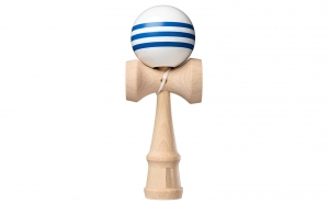 Cel mai in voga joc de indemanare Kendama Pro Competition White Blue