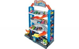 Set de joaca Mattel Hot Wheels Stunt Garage