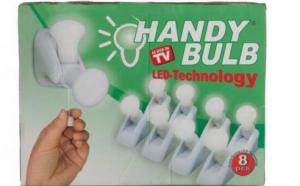 Set complet 8 becuri Handy Bulb LED bec fara fir