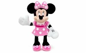 Jucarie Minnie Mouse din plus, muzicale, 50 cm la doar 69 RON in loc de 152 RON