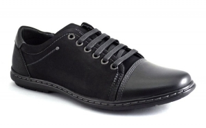 Pantofi Sport Barbatesti negri - Global