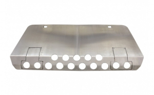 Prelungire din aluminiu, protectie bara fata Off Road compatibil cu Mercedes W463 G-Class (1989-2017) 4x4 Design 1
