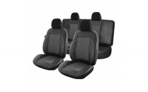 Huse scaune auto Dacia Logan I Exclusive Leather Lux