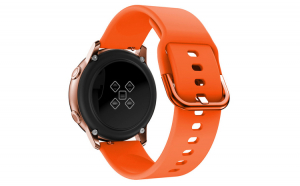Curea Silicon Premium MTP Universala Orange 22mm Quick Release, Smooth, pentru SmartWatch