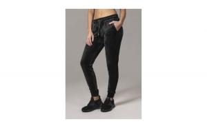 Pantaloni model tip catifea pentru Femei negru
