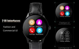 Ceas Smartwatch IMK K88H Android IOS, Negru, la 353 RON, vezi video