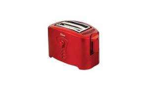Prajitor de Paine Pentru 2 felii. 750W. rosu. 7 nivele .