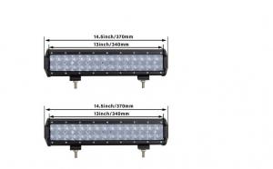 Pachet 2 x Led bar 90w, Rtm Online, Alimentare 12-24v, Patren 4D, 38 cm