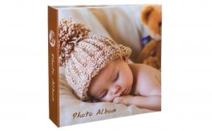 Album foto cu imprimeu bebelus, 22.5 x 22 cm