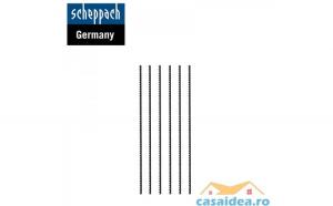 Set lame de fierastrau  25 DPI  6 bucati   Scheppach 88000011