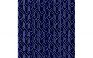Tapet printat Clasic 004 1.5 x 5 m Hartie blueback fara adeziv
