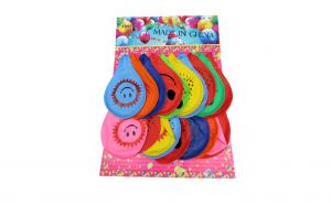 Set 20 baloane colorate, cu desene