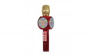 Microfon karaoke Disco LED, fara fir
