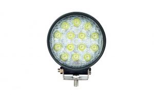 Proiector LED offroad 42W/12V-24V, 3.080 lumeni, rotund