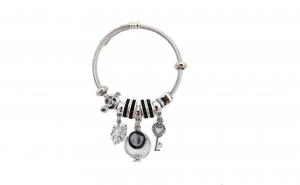 Bratara tip Pandora, cu ineluse