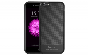 Husa iPaky Carbon Fiber iPhone 8  Negru