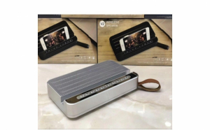Boxa portabila cu suport telefon