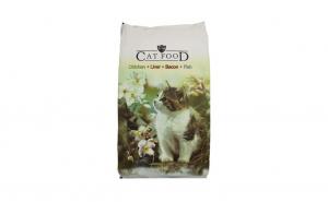 Hrana pentru pisici, Cat Food Mix, Chicken + Liver + Bacon + Fish, 10 kg