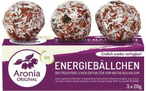 Bombite energetice bio cu Aronia, 60 g
