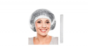 Bonete medicale albe (capeline) 100 buc / set