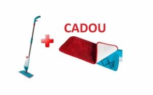 Mop cu rezervor incorporat 600 ml + REZERVA CADOU la  79 RON de la 159 RON