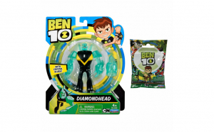 Figurina Ben 10 - Cap de Diamant 12cm 76103 + Mini figurina 76715