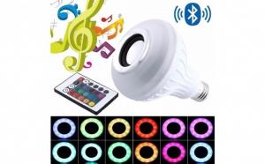 Boxa-Bec LED cu Bluetooth si lumini