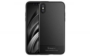 Husa iPaky Carbon Fiber iPhone X  Negru