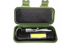Lanterna tactic cu cablu incarcare