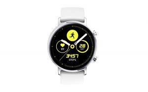 """Ceas Smartwatch TND Wear SG3, Rezistent la apa IP68, Heart Rate, ECG, Oxygen Control, Pedometru,Music Control,  ecran 1.2"""" AMOLED, baterie 5 zile, 190mAH, alb"""