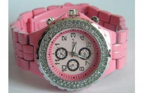 Ceas de dama Roz Fashion, in cutie de cadou, la numai 49 RON in loc de 99 RON
