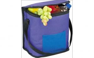 Geanta picnic, camping termoizolanta, 6,5l mov cooler bag Vivo