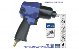 Pistol Impact pneumatic 574Nm 6.3 bari