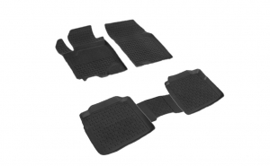 Covoare / Covorase / Presuri cauciuc stil tip tavita SUZUKI SX4 II 2013-prezent (5 bucati) (85837) - SEINTEX
