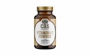 Vitamina C Powder, Pulbere De Vitamina C, COS Laboratories, 125 g